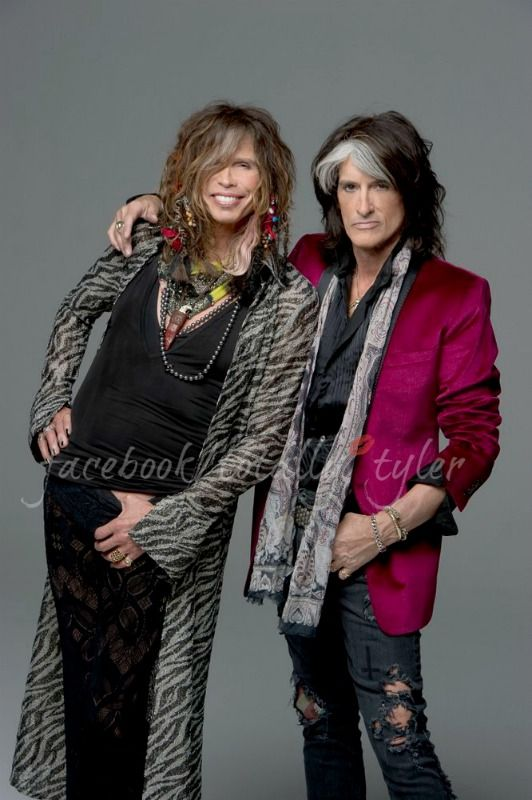 THE TOXIC TWINS - STEVEN TYLER AND JOE PERRY  FACEBOOK/TOTALLY TYLER