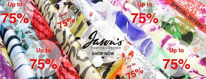Offers and #discount fabircs | Jason's Fabrics