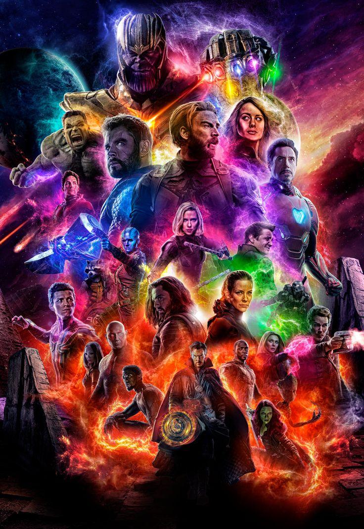 Pubg Phone Wallpaper Avengers 4 Avengers Endgame Poster By Ralfmef Marvel