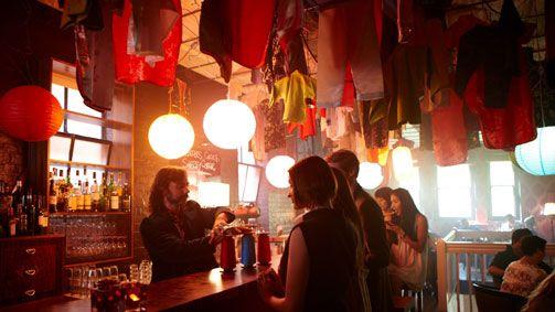 Seamstress cocktail bar, Melbourne