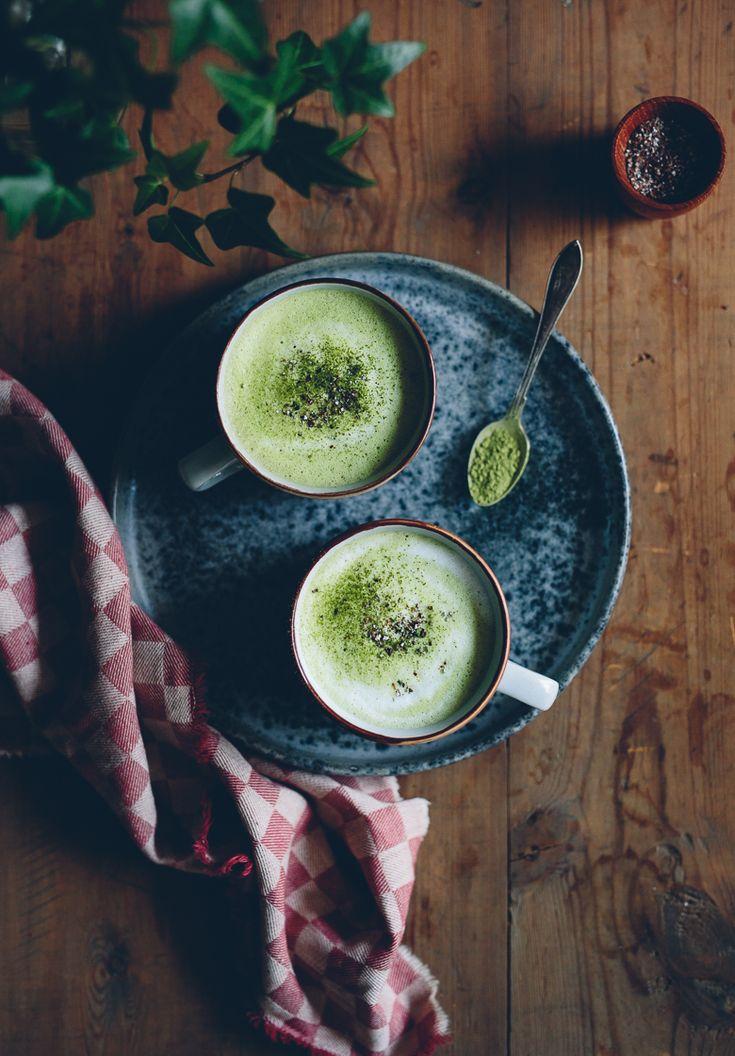 Matcha Latte with Oatly iKaffe | Cashew Kitchen