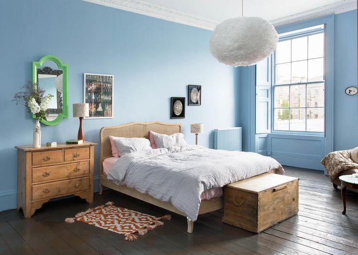 1000 ideen zu hellblaue schlafzimmer auf pinterest blaue schlafzimmer schlafzimmer und - Blaue wandfarbe schlafzimmer ...