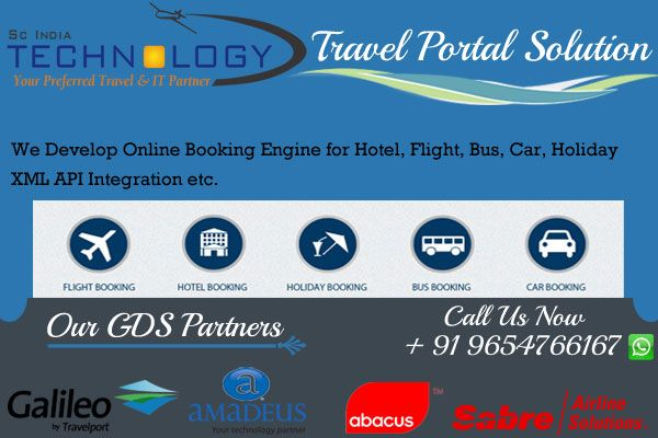 We provides the fastest travel portal development solution. We also provide yearly maintenance service in very affordable price. more detail visit now http://www.travelportalsolution.com