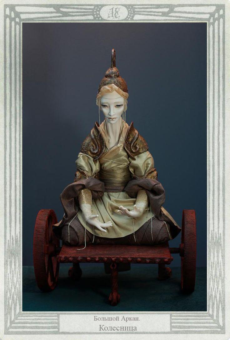AekaDolls/ #PorcelainDolls by Elena Alekhina/ #CollectionArcanum/ Chariot/  #Porcelain #Art/ #AleisterCrowley #Thoth #Tarot #фарфор #ФарфоровыеКуклы_ по мотивам карт #Таро #Тота Алистера #Кроули 4000$ http://www.livemaster.ru/aekadoll