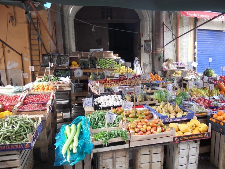 mercato di Ballarò.