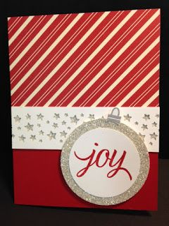 Your Presents, Christmas Card, Stampin' Up!, Rubber Stamping, Handmade Cards