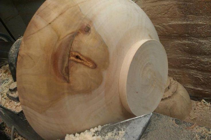 Proces :: houten-schalen