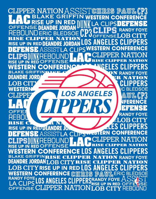 Los Angeles Clippers Typography