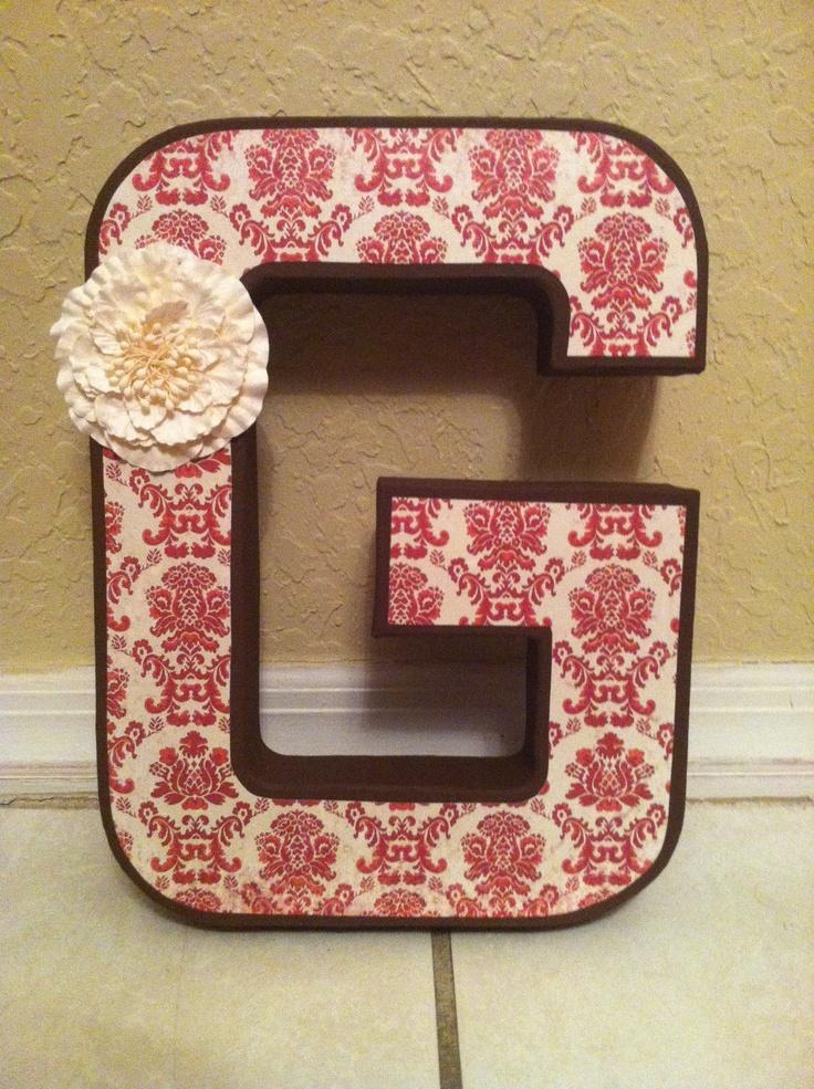 14 Best Letters Design Images On Pinterest Painted