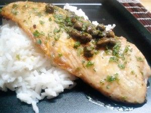 Tilapia Meuniere, great recipe for the spring/summer