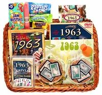 50th Wedding Anniversary Gift Basket
