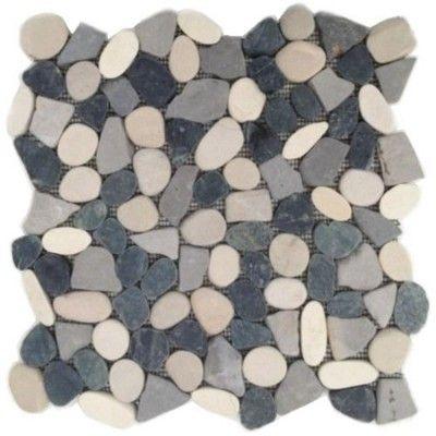 Мозаика из гальки и мрамора