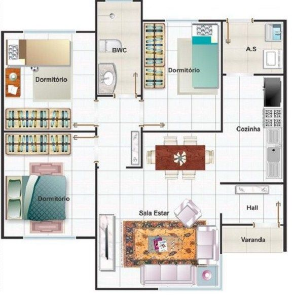 17 best images about floorplan on pinterest monster - Plantas de casas de un piso ...