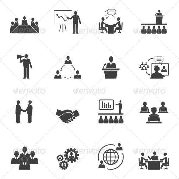 Meet People Online Icons — JPG Image #pictogram #technology • Available here → https://graphicriver.net/item/meet-people-online-icons/7555200?ref=pxcr