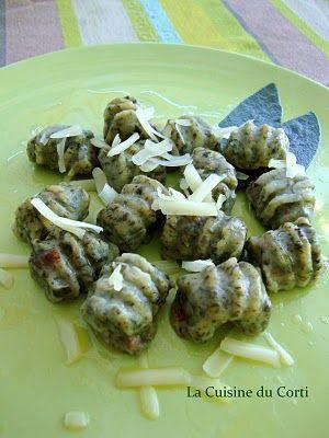 La cuisine du Corti: Gnocchis de blettes et beurre parfumé à la sauge