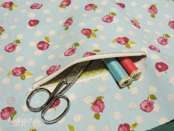 Tutorial: como coser un bolsillo con cremallera en un bolso