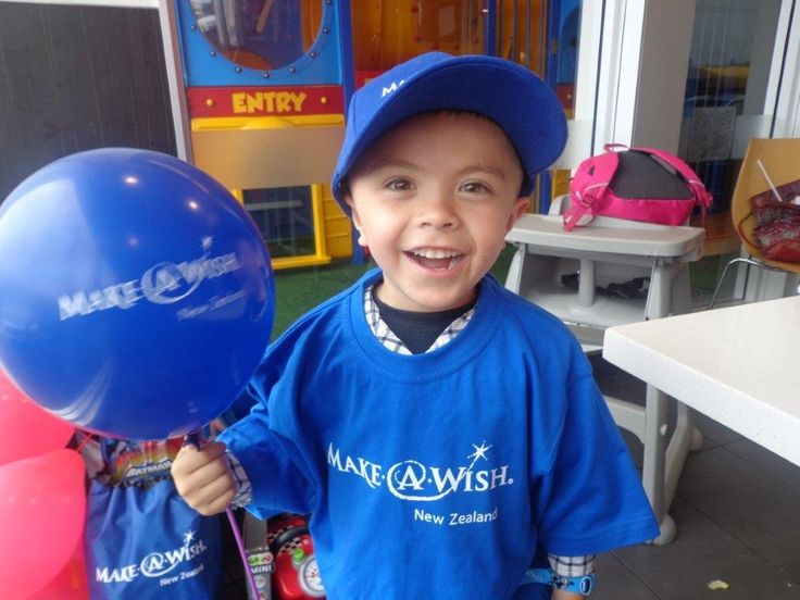 """Gabriel is 4 years old and has Ganglioglioma. As you can see from the photo – he's a real cutie!   Gabriel loved his wish box – his eyes lit up with each present he opened. The Make-A-Wish kiwi was quickly named """"Kev the Kiwi"""" and he had a wonderful time with all the toys, ESPECIALLY the cars! #MakeAWishNZ"""