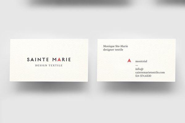 Sainte Marie by La Mamzelle & Co. atelier, via Behance