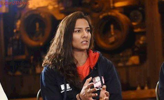 Geeta Phogat for UP Dangal's PWL clash against NCR Punjab Royals