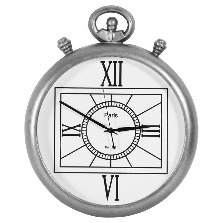 Ren-Wil Authentic Eclectic Carroll 19 in. Wall Clock - CL210