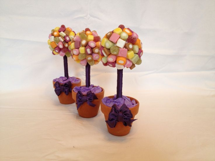 Dolly Mixture Miniature Trees Created by Sabrina's Sweet Trees