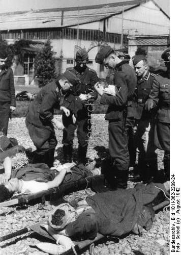Raid de Dieppe Aout 1942