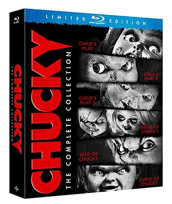 Chucky: The Complete Collection Blu-ray