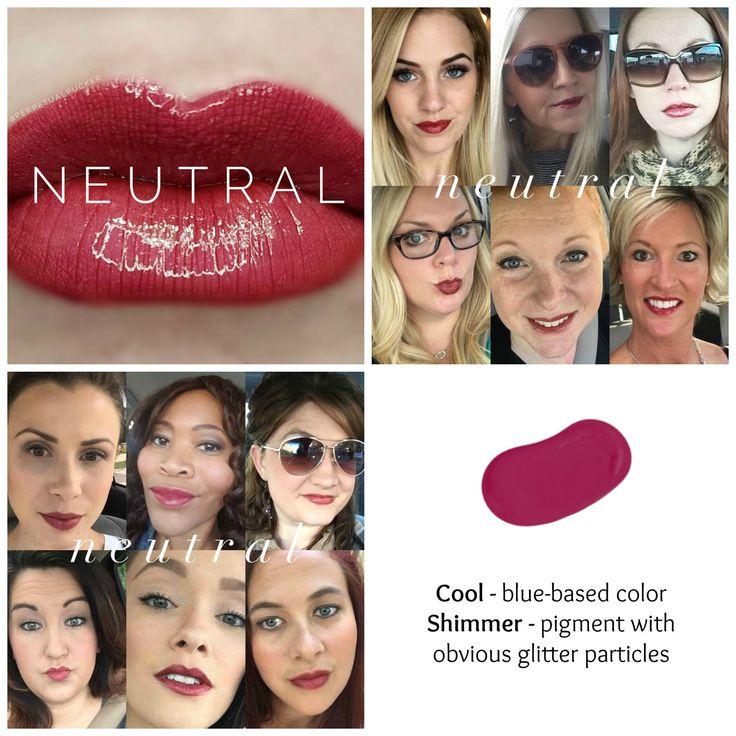 Neutral Lipsense Retired Color  Lipsense Colors Chart -5813