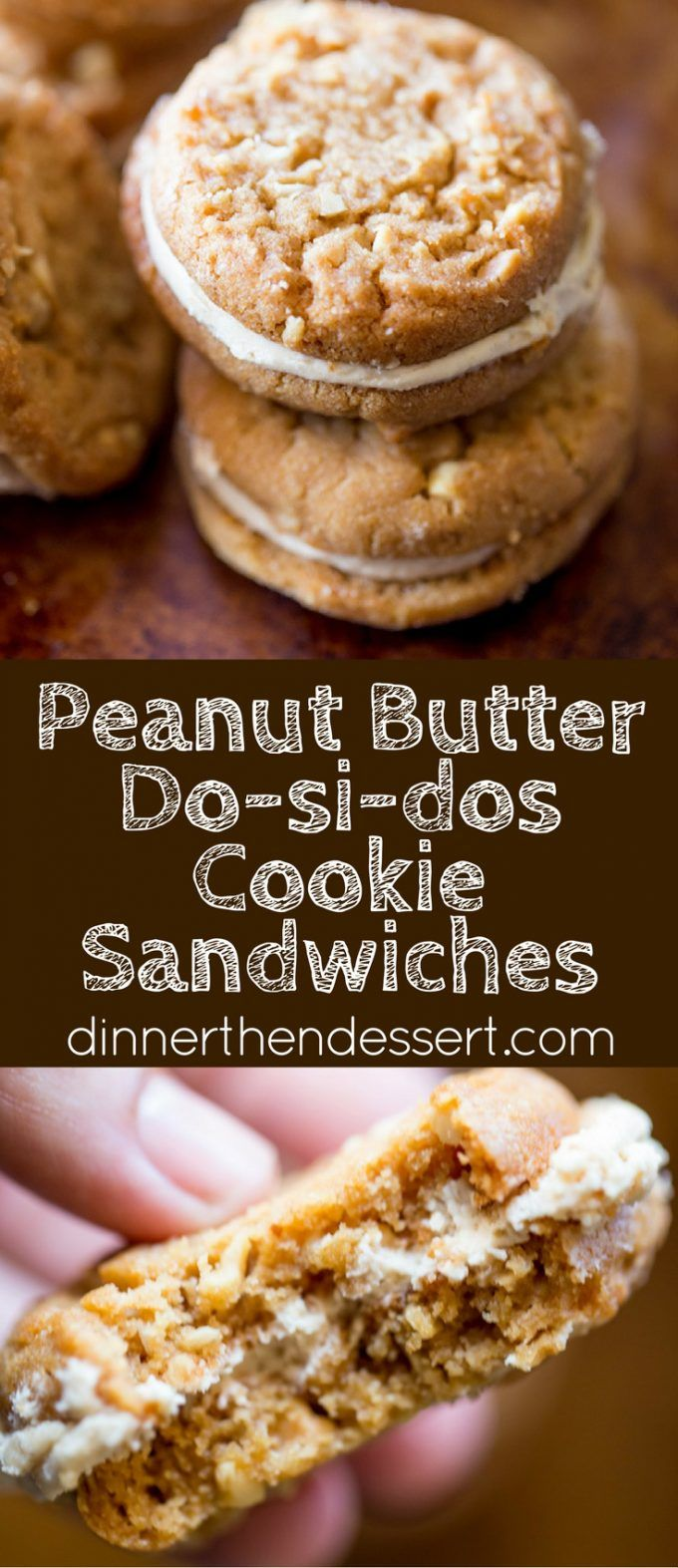 Peanut Butter Sandwich Cookies With Peanut Butter Molasses Buttercream ...