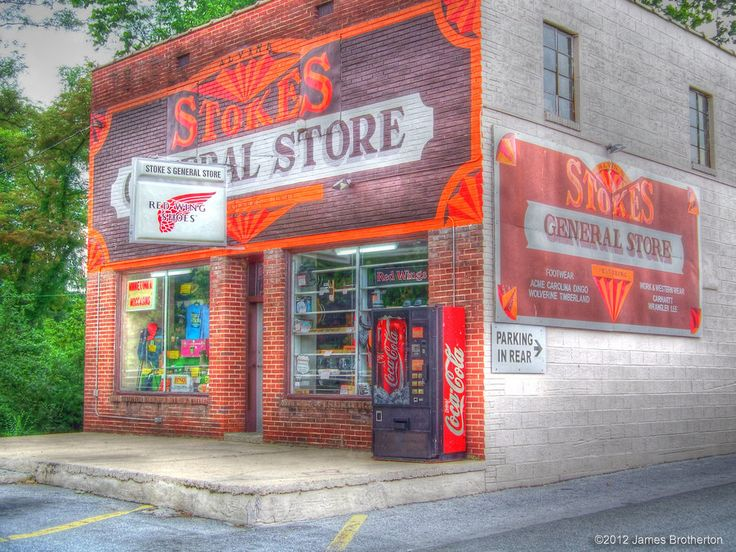 Stokes General Store By Jim88bro. Located In Front Royal, Virginia.