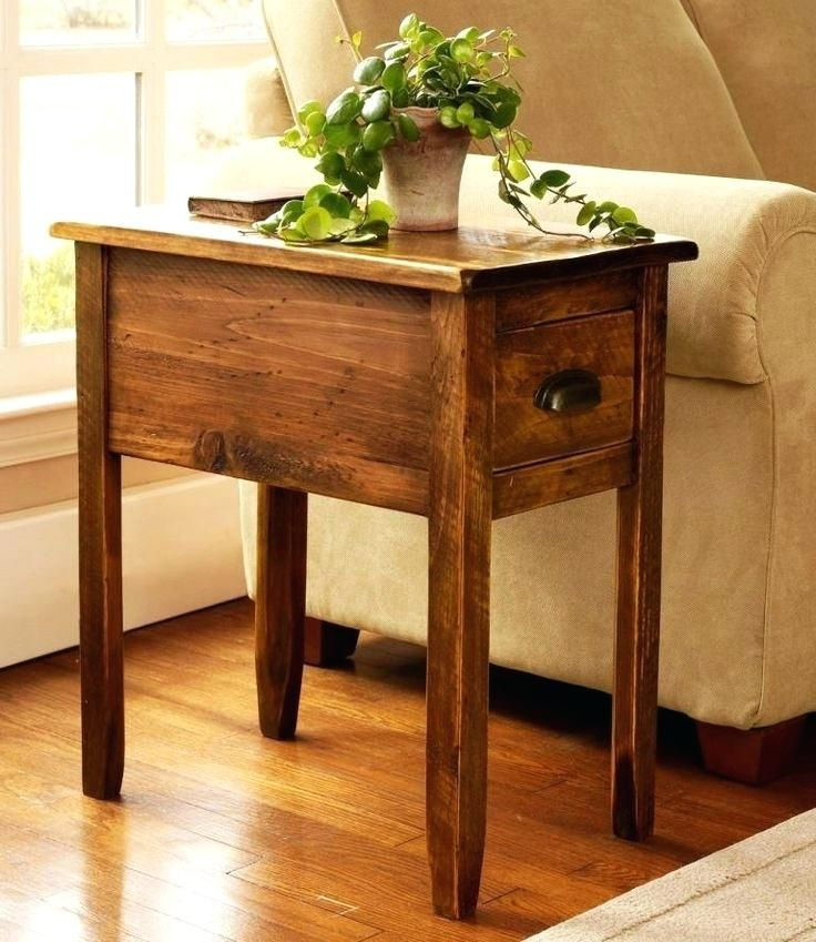 Stunning Small Lamp Tables For Living Room Design Ideas Hixpce Info Rustic End Tables Rustic Side Table Wooden Side Table