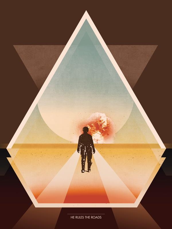 Mad Max - Brandon Schaefer: Movie Posters, Minimal Posters, Picture-Black Posters, Max Posters, Screens Society, Mad Max Movie, Posters Art, Film Posters, Alternative Film