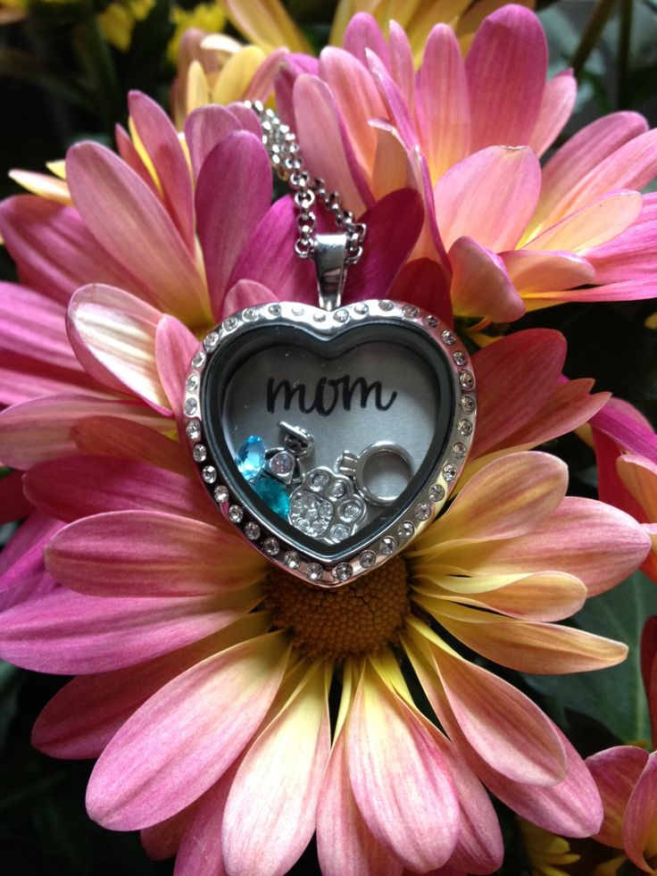 South Hill Designs custom locket for Mother's Day.