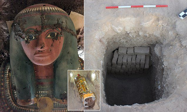 Mummy of servant of king Thutmose III's household is discovered in 'good condition' in