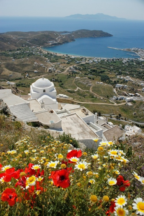 Beautiful Serifos islnad, Greece