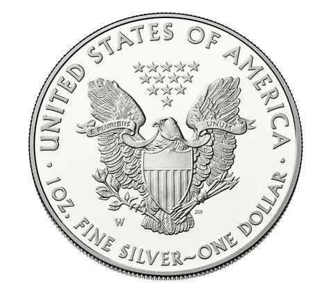 2015 American silver eagle
