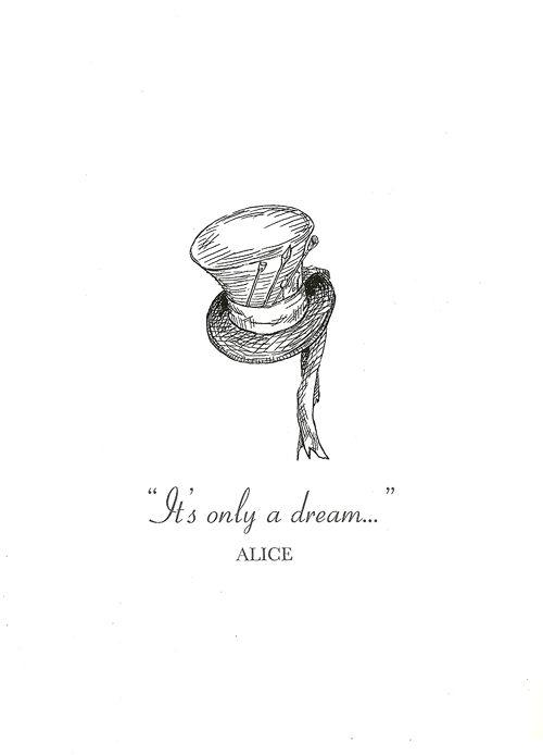 iPhone wallpaper Alice in Wonderland Quotes