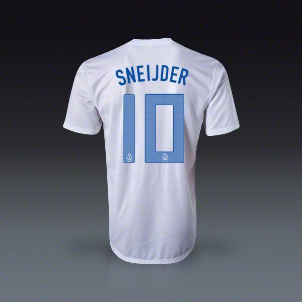 Nike Wesley Sneijder Holland Away Jersey $120