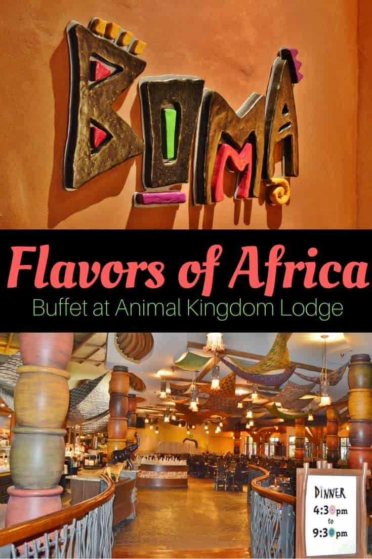 Boma, Flavors of Africa has one of the best buffets at Walt Disney World. via @disneyinsider