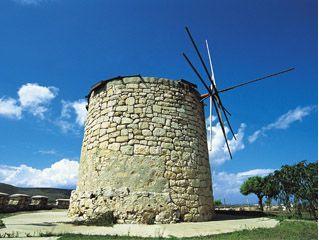 Windmills - Alacati Cesme Turkey