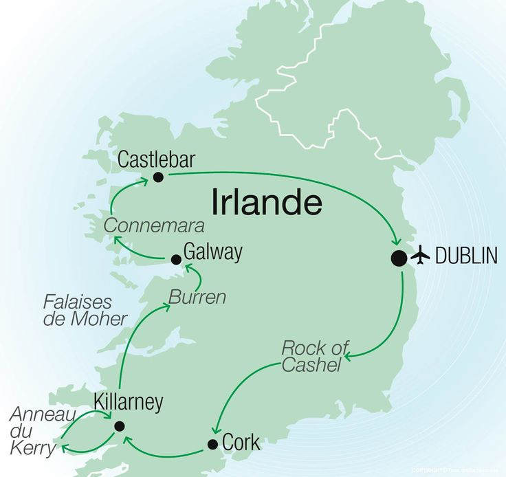 Autotour Le Pays de l'Homme Tranquille - Clé en main voyages Irlande