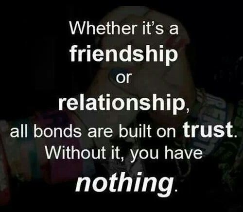 Trusting Relationship Quotes: Relationships, Trust In Relationships And Its You On Pinterest