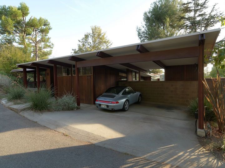 15 best closing in carport ideas images on pinterest for Mid century modern architects houston