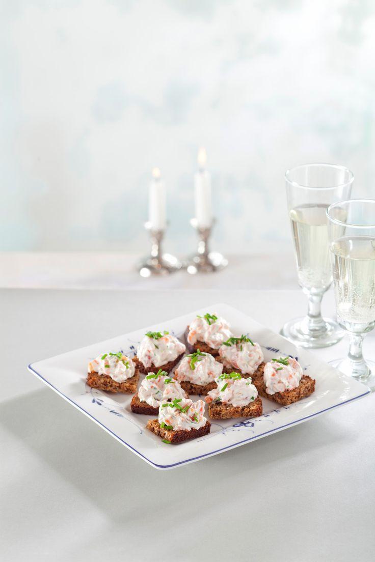 Wasabi-lohitahna | K-ruoka #alkuruoka #juhlapöytään