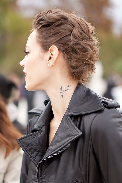 "Freja Beha Erichsen | 40 Top Models With ""Fashionable"" Tattoos Also this"