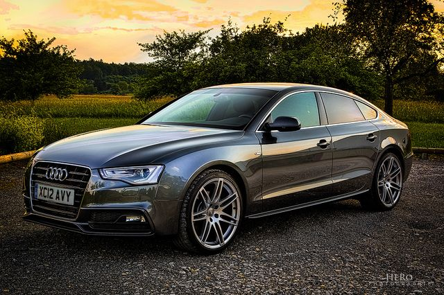 Audi A5 Sportback - my new baby - bought in UK (LHD) - #1 by Romeo Heger, via Flickr