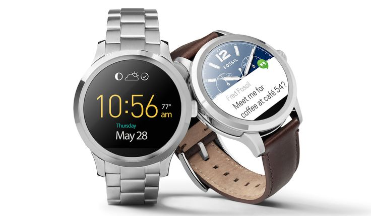 The Fossil Q Founder isn't the highest-tech Android smartwatch, but it may be the best-looking.