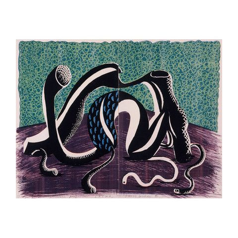 David Hockney: Extending, February 1990, 1990
