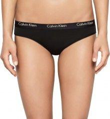 Calvin Klein černé kalhotky s černou gumou Cheeky Bikini