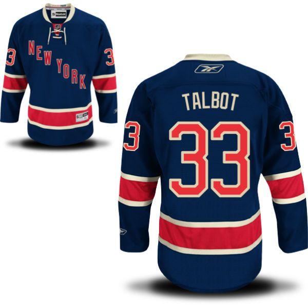 Reebok New York Rangers Men's Premier Alternate Custom Jersey - Navy Blue  Hayes - 13 - Gotta support BC!